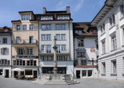 Gebäude mit TCM-Naturheilpraxis